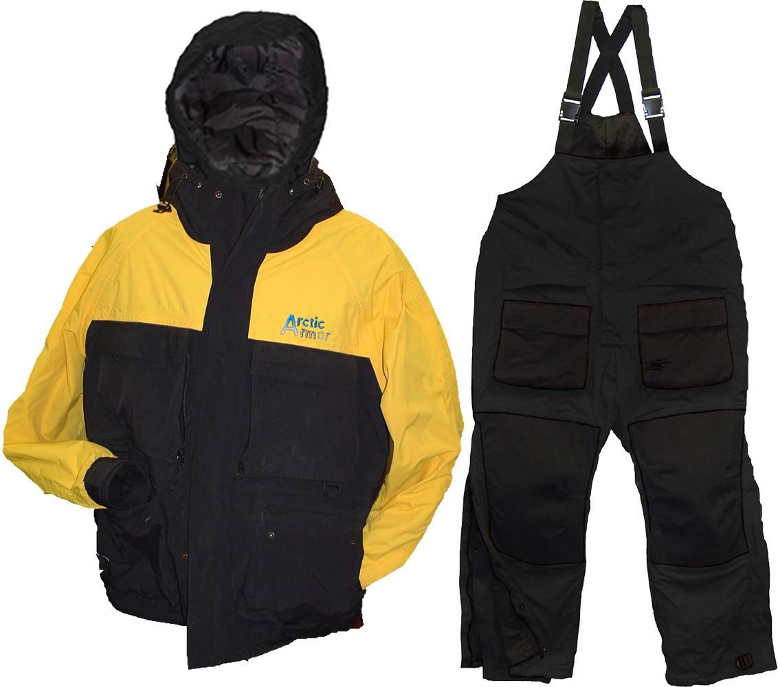 Arctic Armor Black/Gold Suit