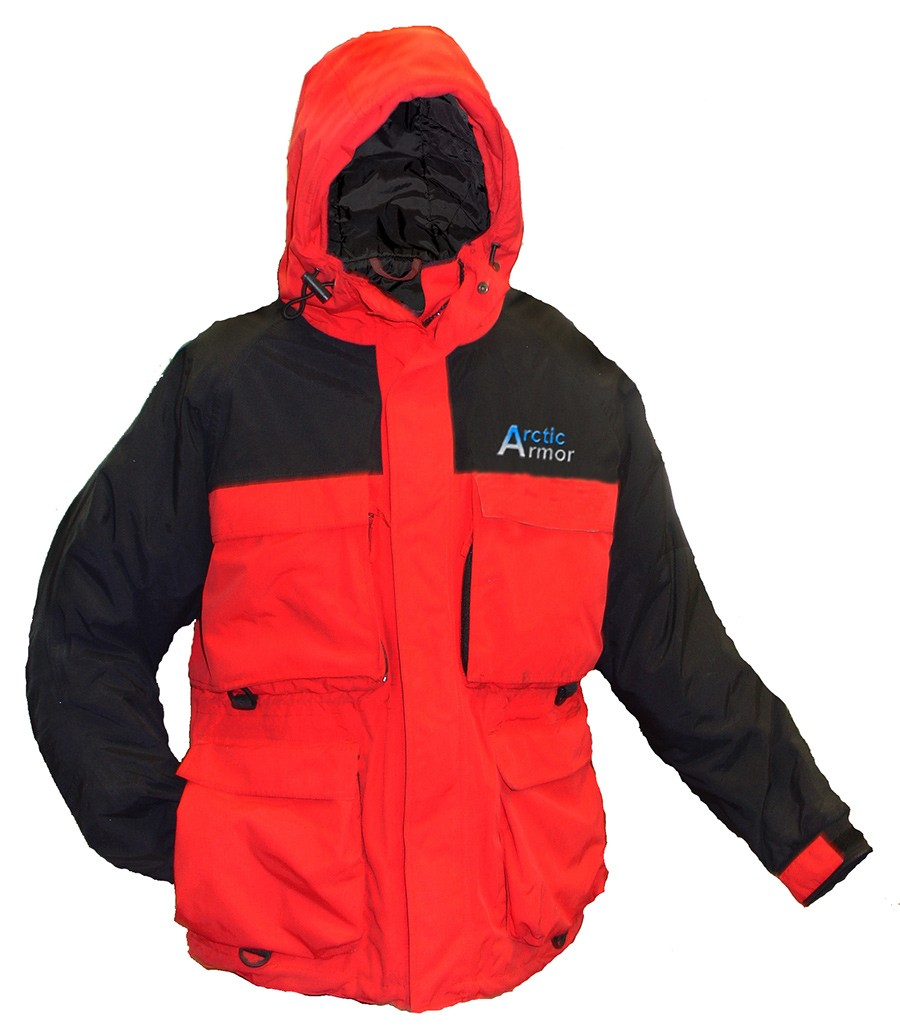 Arctic Armor Red Jacket